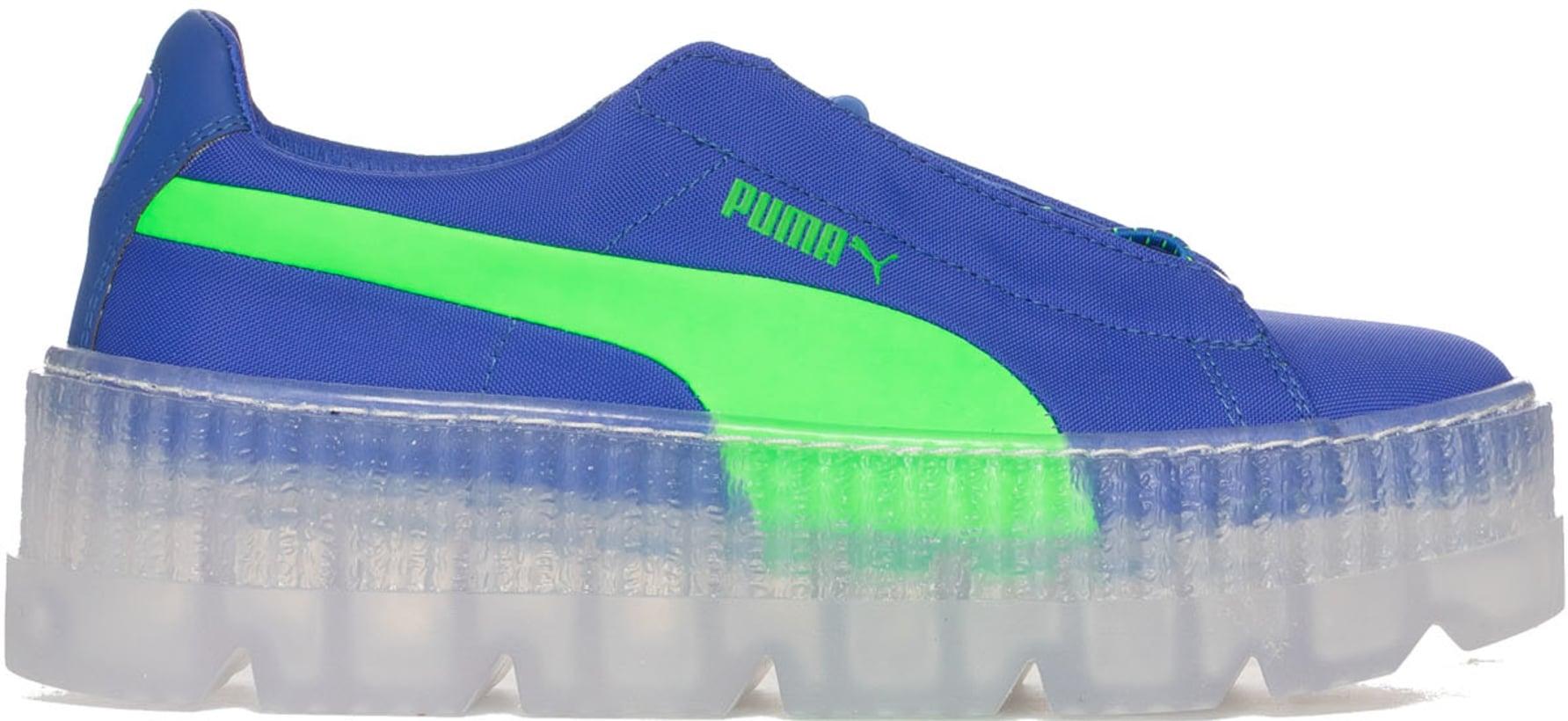 ac4a09ef74182f Puma  Cleated Creeper Surf - Dazzling Blue Green Gecko