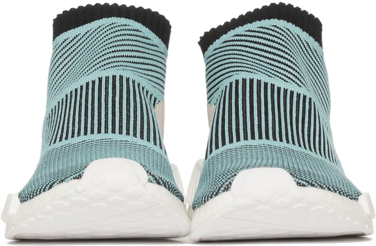 new style af1f0 2478f adidas Originals NMD CS1 Parley Primeknit - Core BlackCore BlackBlue  Spirit  Influence U