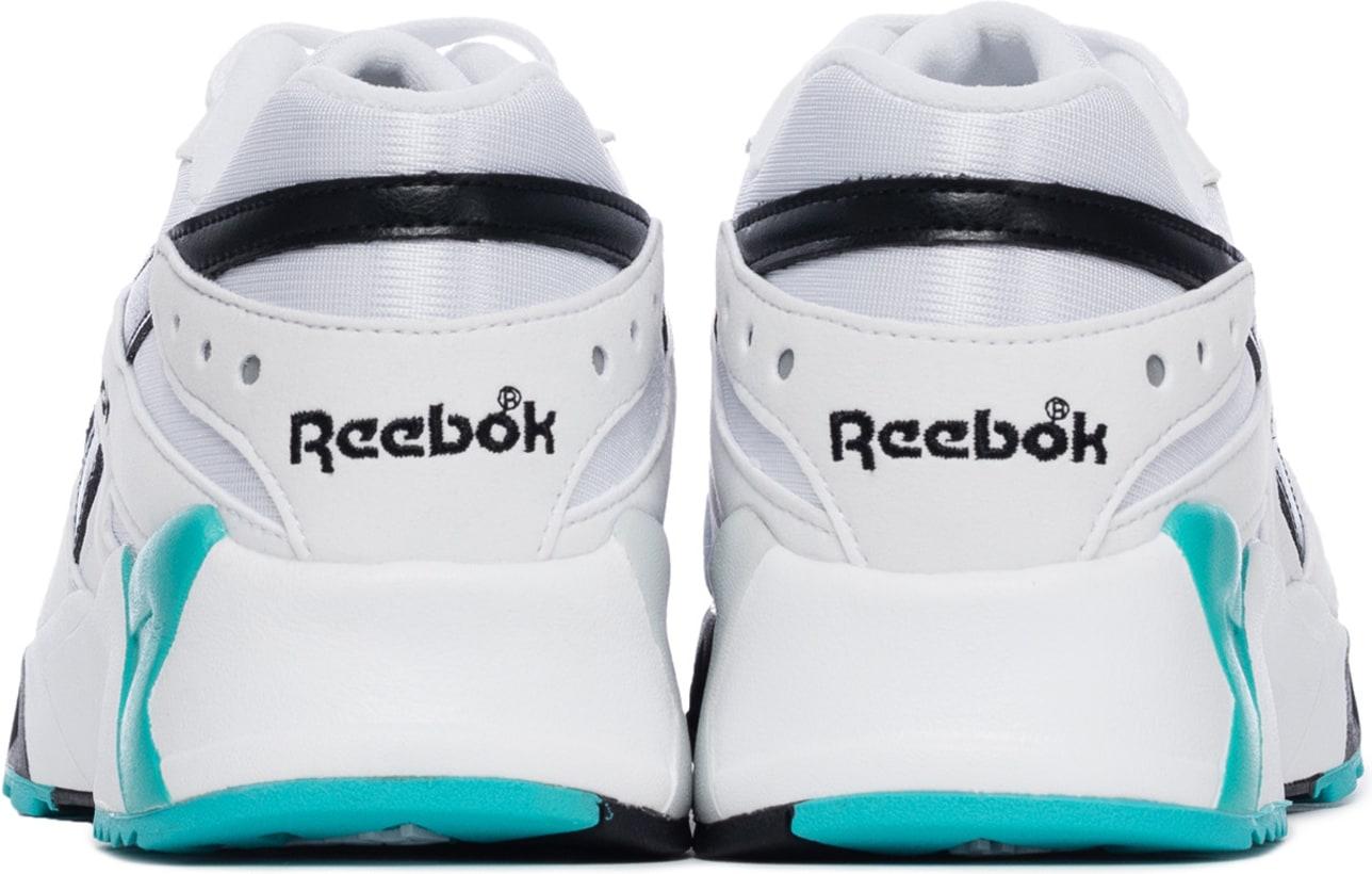 e99084443862 Reebok  Aztrek - OG White Solid Teal Black
