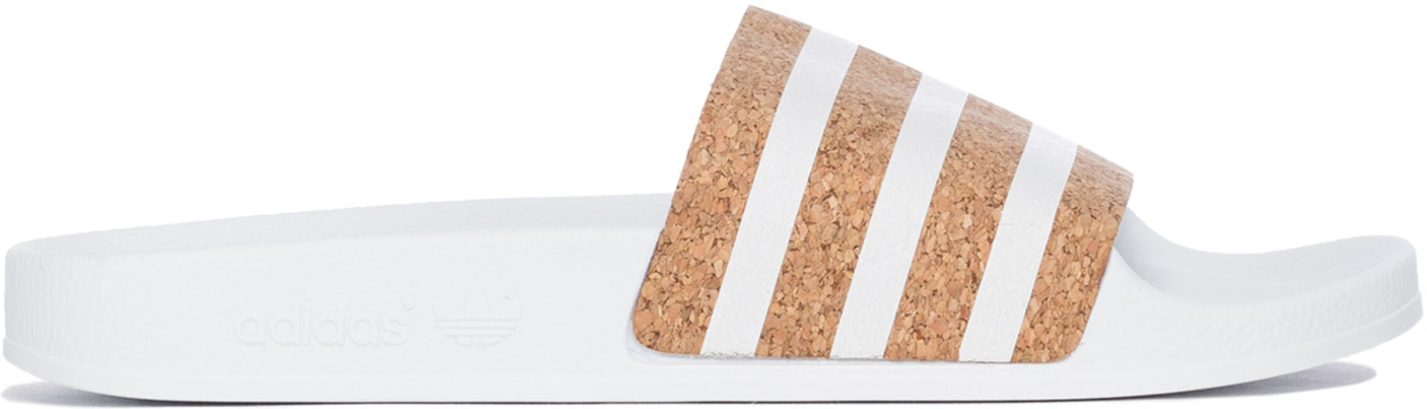 3444c552a60a adidas Originals  Adilette Slides - White White Supplier Color ...