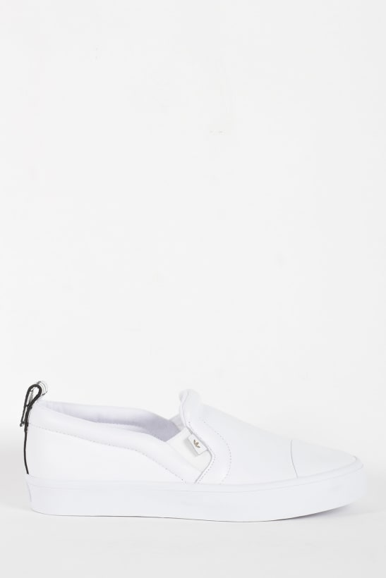adidas Originals  Honey 2.0 Slip-On Sneakers - White Core Black ... 98ec6aa585a