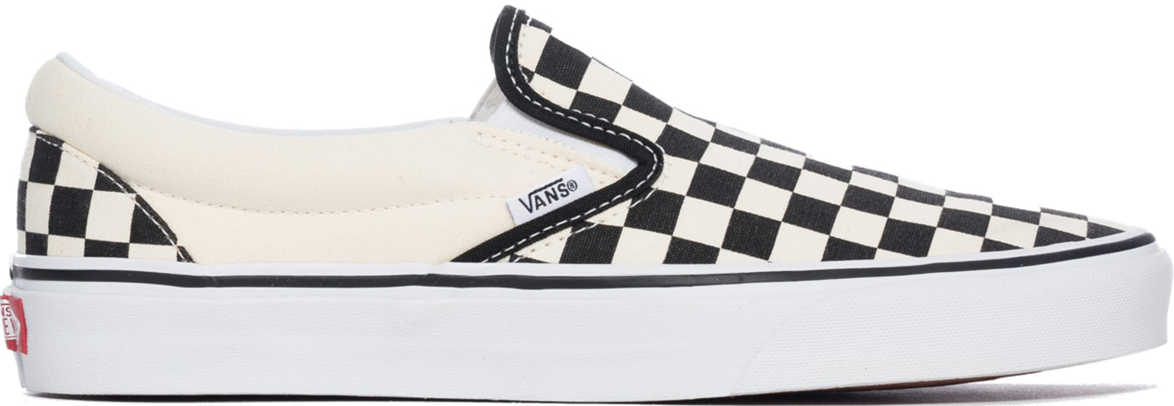 Vans  Checkerboard Classic Slip-On - Black Off White Check  9c5bb3956