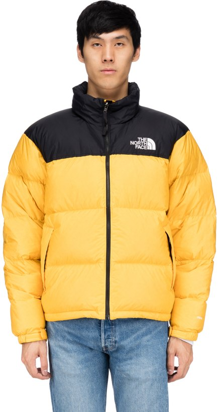 The North Face Men S 1996 Retro Nuptse Jacket Orange - Image Of Jacket 15099ad8b