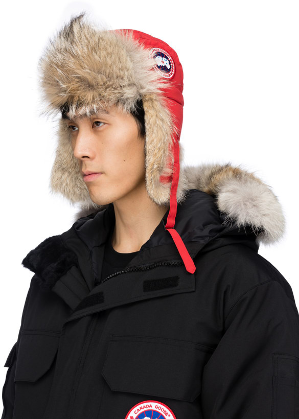7d296958a Canada Goose - Aviator Hat - Red