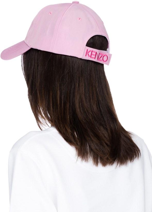 3ffaed76a76a7 Kenzo: Tiger Canvas Cap - Flamingo Pink | influenceu
