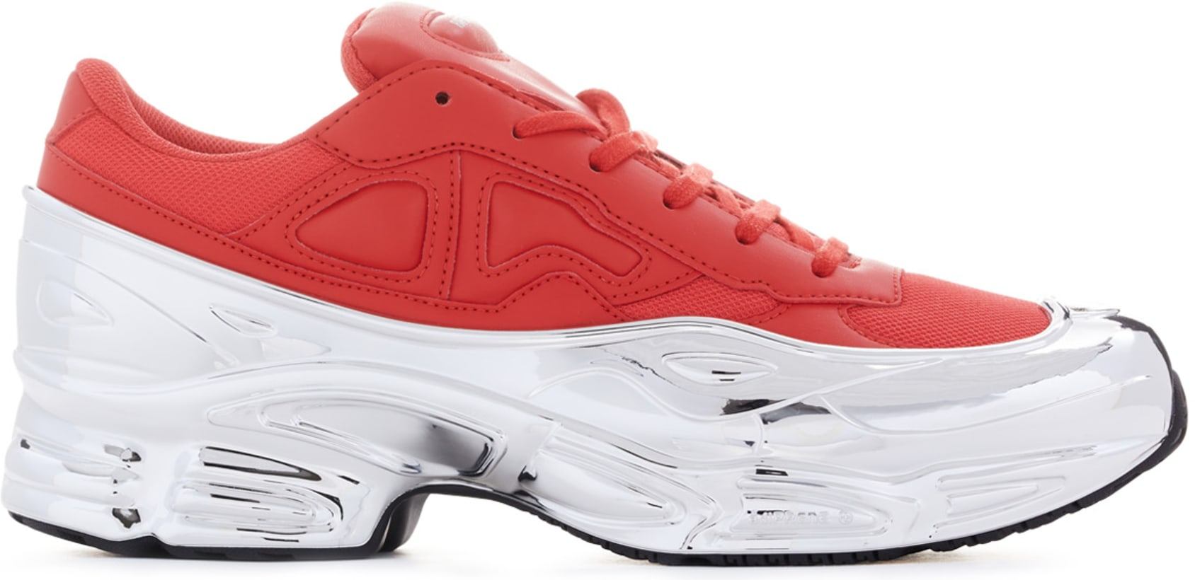 sports shoes 27566 23d57 adidas by Raf Simons - Raf Simons Ozweego - Red/Silver Metallic/Silver  Metallic