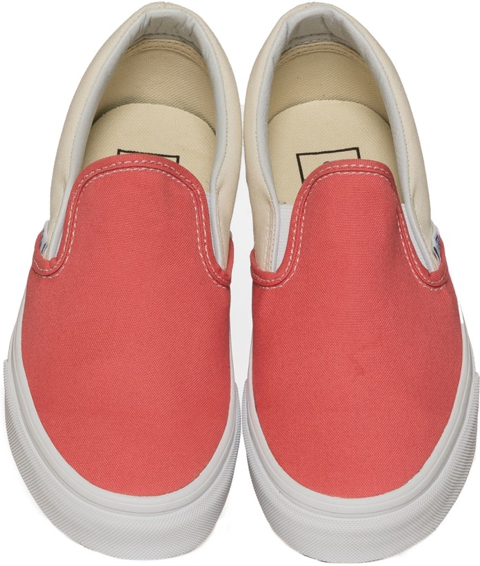 84bcbd620f Vans  Checker Sidewall Slip-On - Spiced Coral True White