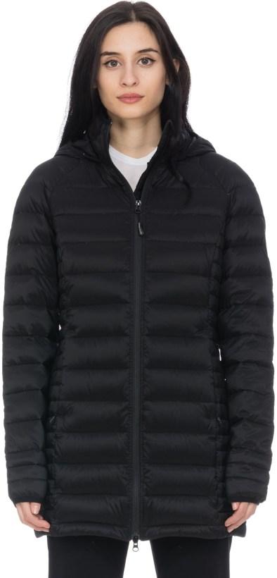288899c8447 Canada Goose: Black Label Brookvale Hooded Coat - Black   influenceu