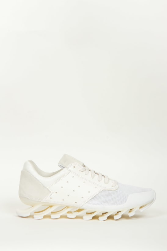 the best attitude e5aca f023b adidas by Rick Owens - Rick Owens Springblade Low Sneakers - White