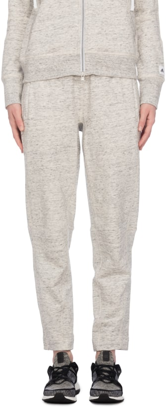b8f66897696cc adidas athletic X Reigning Champ FT pant - Color White Heather ...