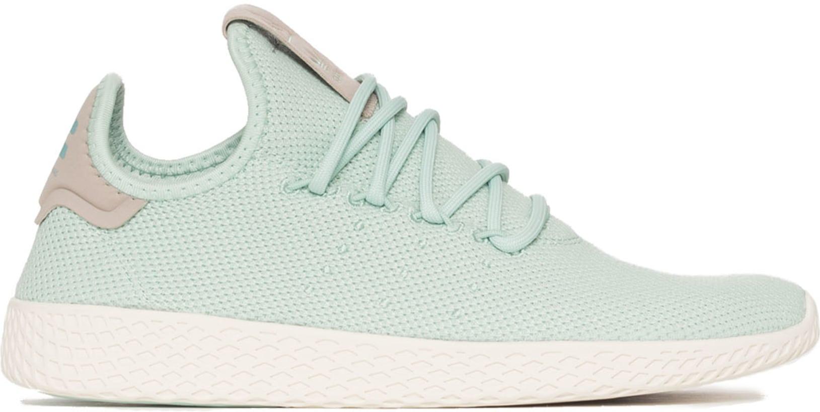 1a95bfc3e04 adidas Originals  Pharrell Williams Tennis Hu - Ash Green Ash Green ...