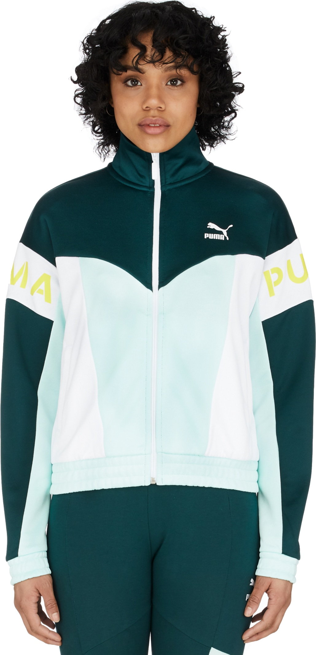 b4d09fab5 Puma: XTG 94 Track Jacket - Fair Aqua | influenceu