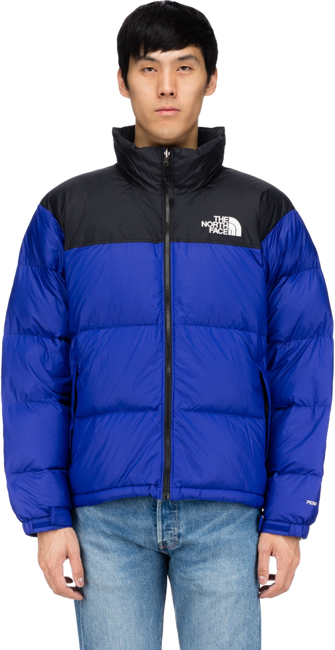 329c496aa02 the North Face: 1996 Retro Nuptse Jacket - Aztec Blue | influenceu