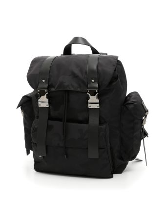 Jacquard Camouflage Backpack