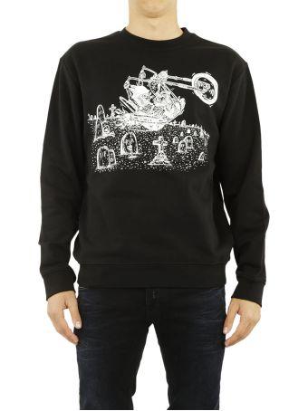 Mcq Alexander Mcqueen Rabbit Print Sweatshirt