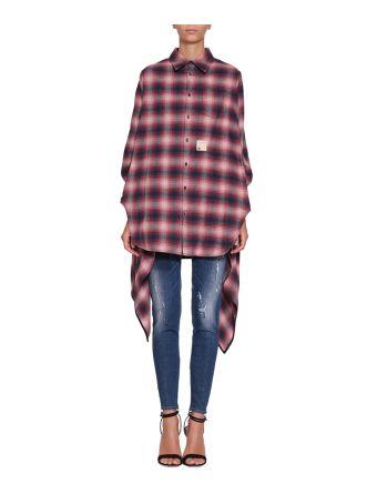 Dsquared2 Asymmetric Cotton Shirt