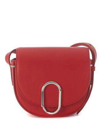 Borsa A Tracolla 3.1 Phillip Lim Alix Mini Saddle In Pelle Rossa