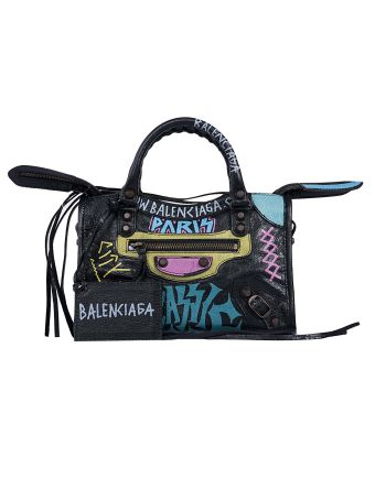 Balenciaga Graffiti Classic Mini City