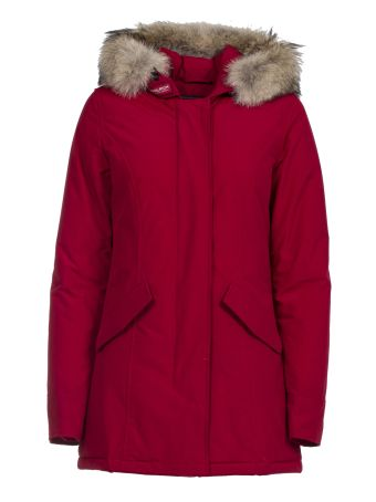 Woolrich Artic Parka Red