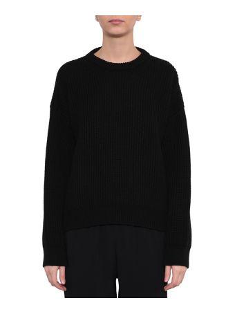 Paco Rabanne Zipped Wool Sweater