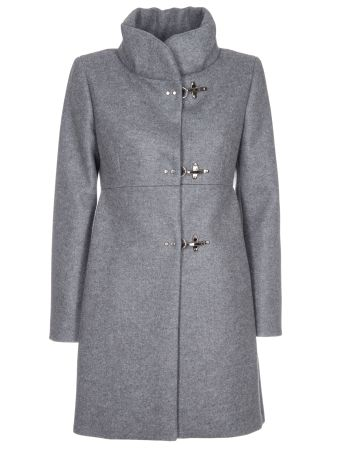 Fay High Collar Coat