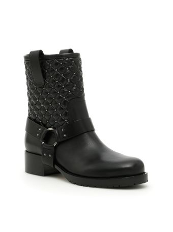 Rockstud Spike Boots
