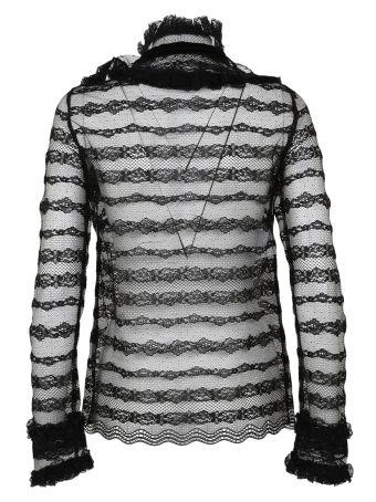 Philosophy Di Lorenzo Serafini Sheer Lace Shirt