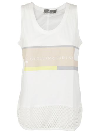 Adidas By Stella Mccartney Essentials Logo Tank Top