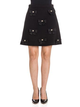 Boutique Moschino Wool Blend Skirt