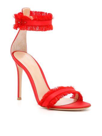 Satin Caribe Sandals