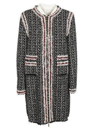 Moncler Gamme Rouge Paneled Coat
