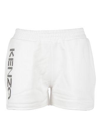 Kenzo Logo Printed Shorts