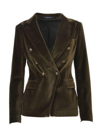 Tagliatore Green Blazer Jacket