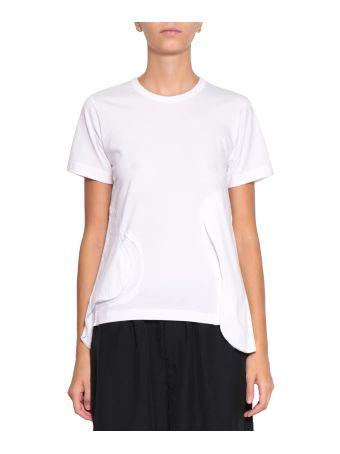 Comme des Garçons Asymmetric Cotton T-shirt