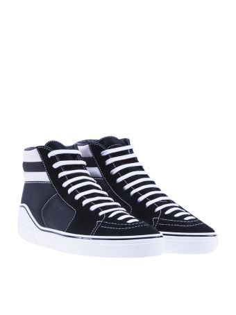 Givenchy Striped High-top Sneakers