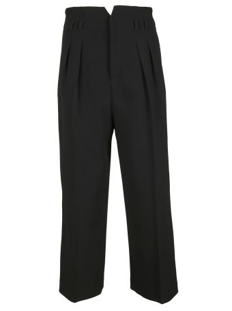 Valentino Red Red Valentino Tailored Cropped Trousers