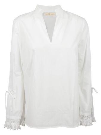 Tory Burch Fringed Shirt