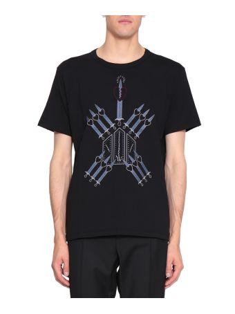 Valentino Love Blade Cotton T-shirt