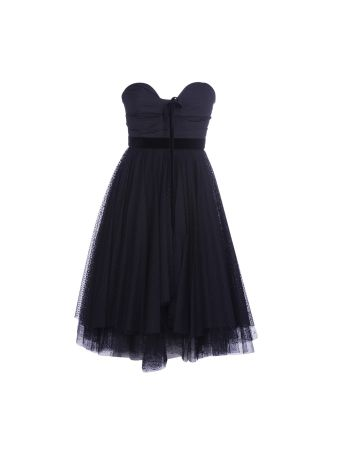 Philosophy Di Lorenzo Serafini Strapless Tulle Dress
