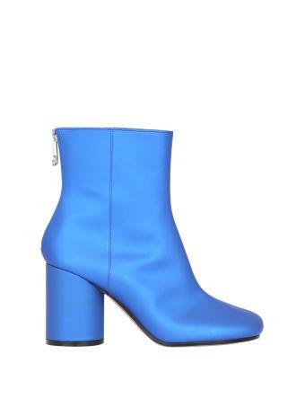 Maison Margiela Satin Ankle Boots