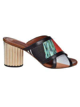 Missoni Striped Strap Mules