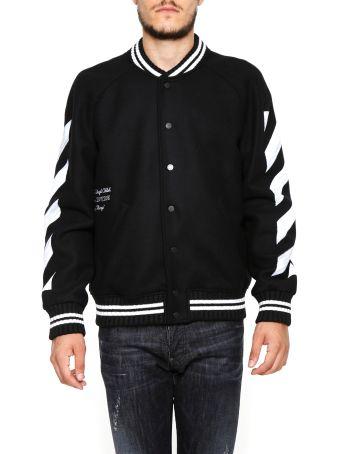 Diag Varsity Jacket