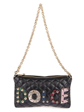 Dolce & Gabbana Logo Patched Shoulder Bag