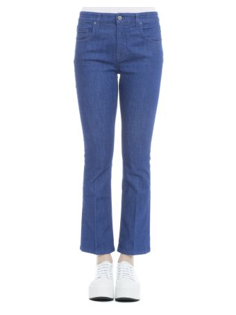 Blue Cotton Jeans