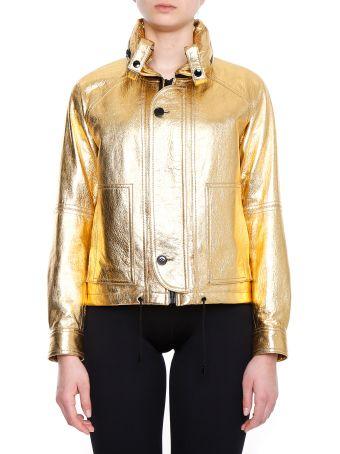 Laminated Leather Jacket