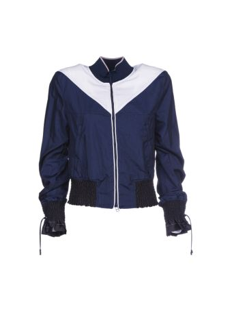 3.1 Phillip Lim Color Blocked Bomber Jacket