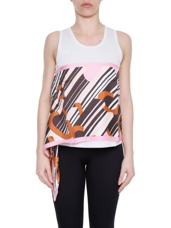 Printed Cotton And Silk Top