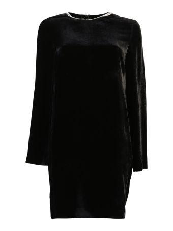 Silk And Viscose Dress