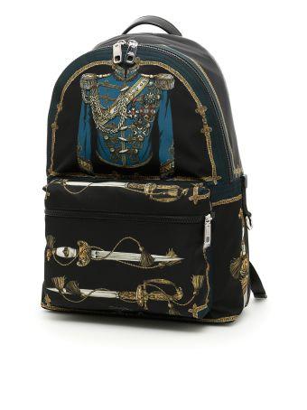 Marsina Print Nylon Backpack