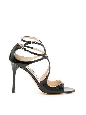 Lang Patent Sandals